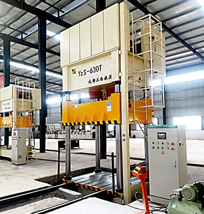 630吨复合材料液压机图片