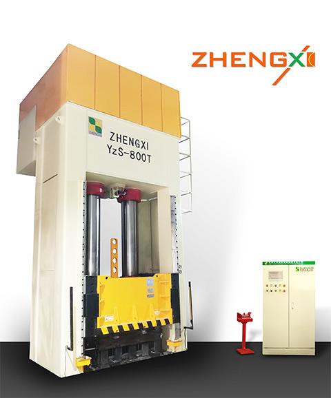 800吨复合材料液压机图片
