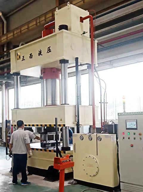 500吨四柱液压机可以加工哪些卫浴产品?成都正西液压机厂家来解答