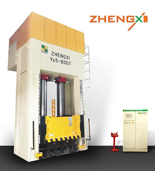 800吨油压机在高温环境下工作有哪些注意事项?