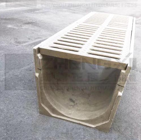 复合材料U型排水沟卡口成型液压机厂家-成都正西