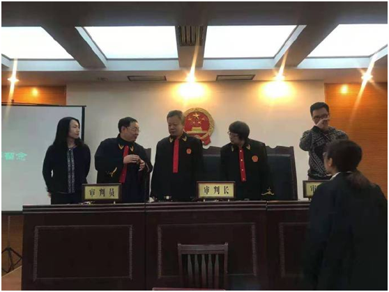 李红钊律师应邀担任北京市大学生模拟法庭大赛评委(图4)