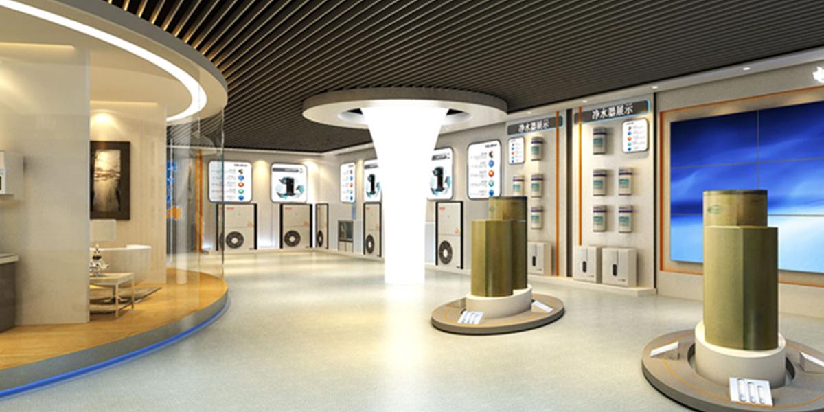 欧斯特企业展厅设计-2