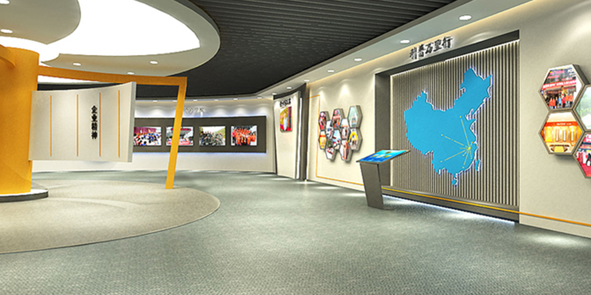 欧斯特企业展厅设计-1