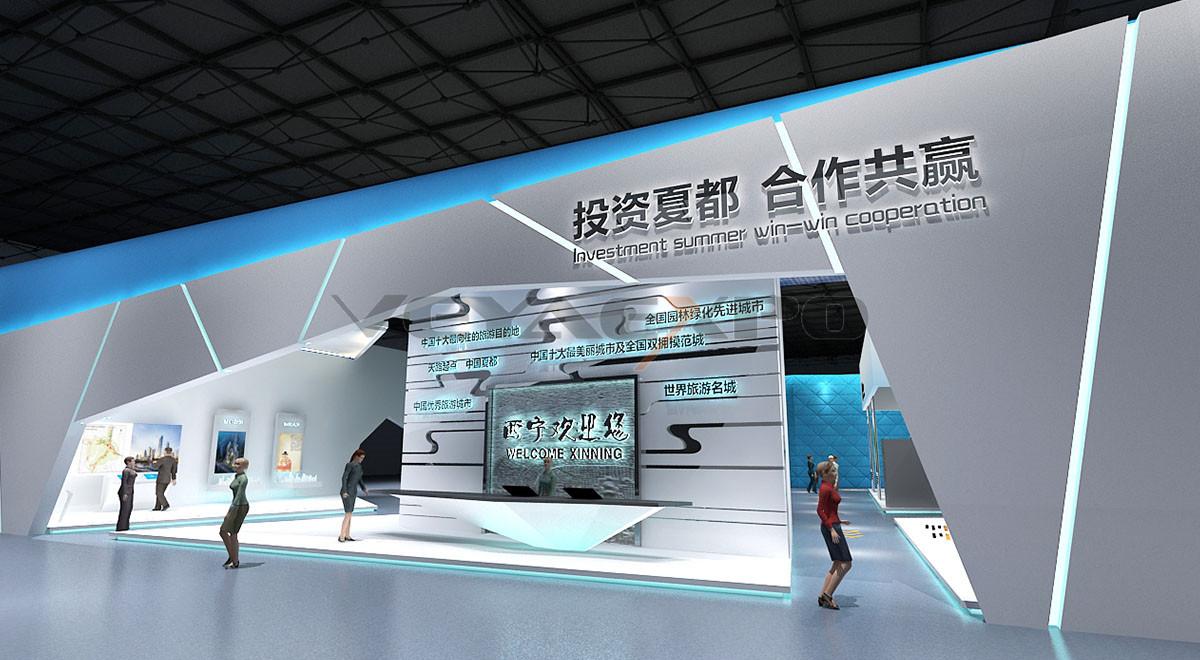 西宁文化展厅设计-3