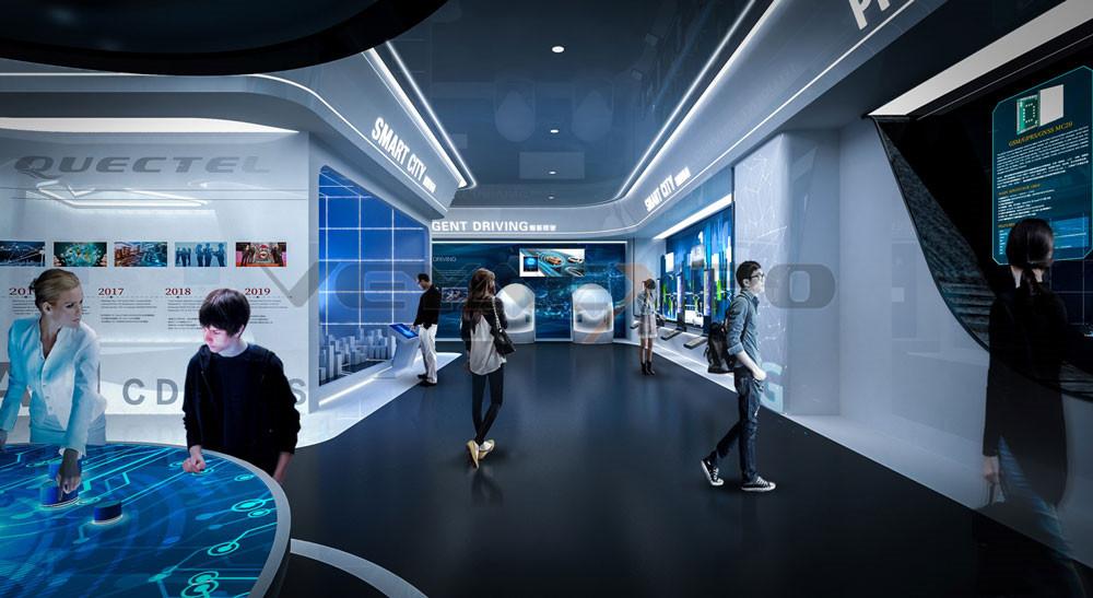 移远企业展厅设计-1