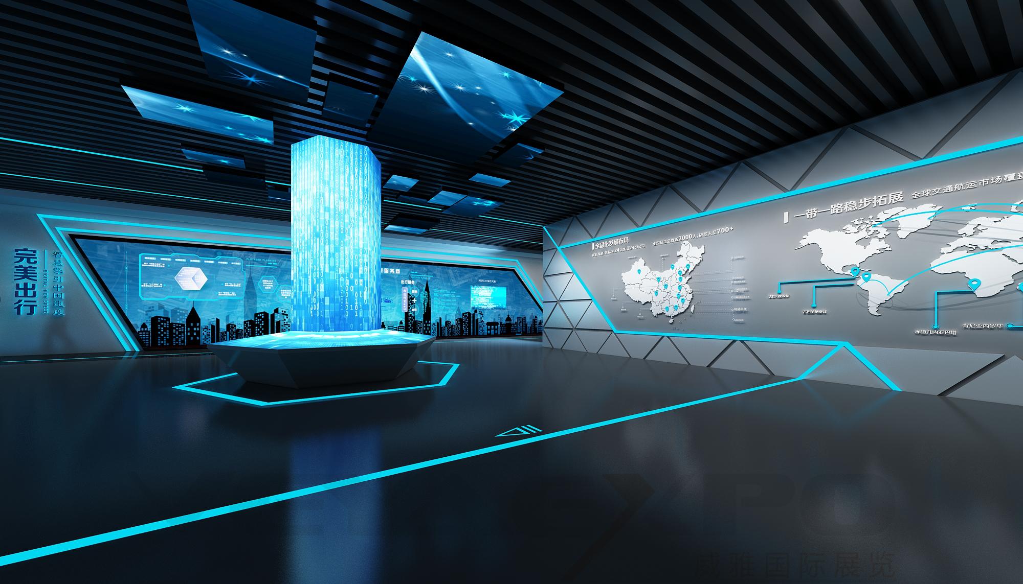 皖通企业展厅设计-3