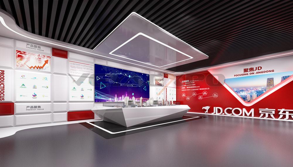 京东企业展厅设计-3