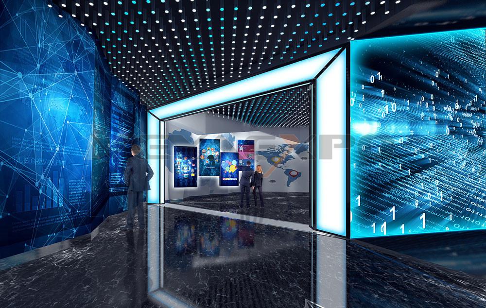创新科企业展厅设计-4