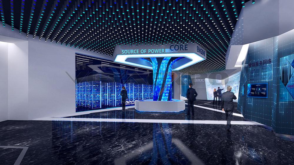 创新科企业展厅设计-3