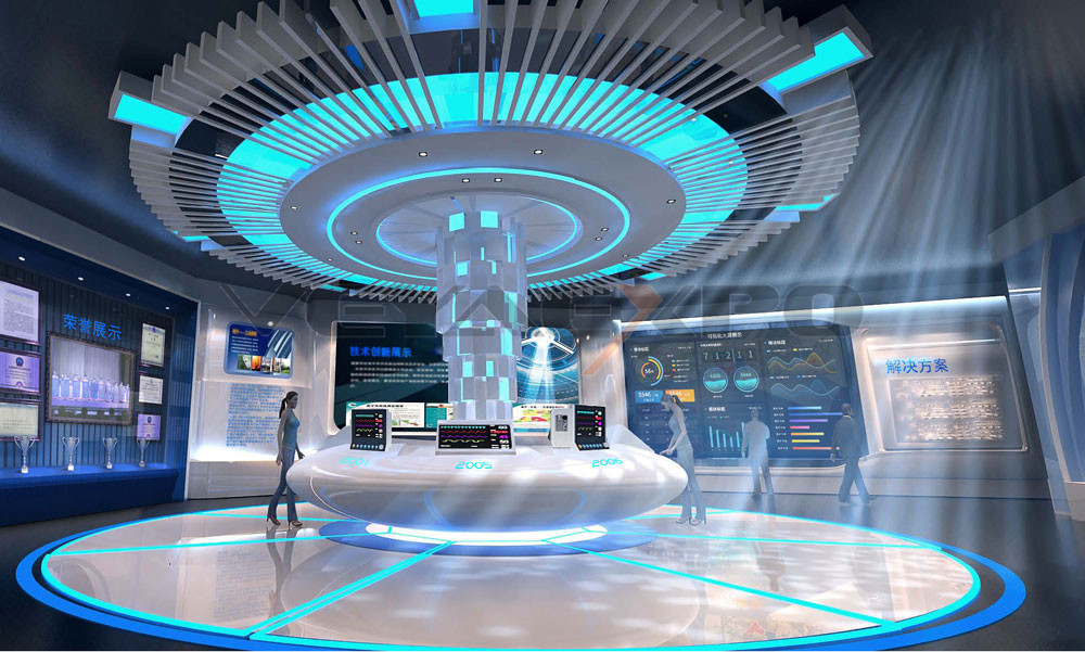 创新科企业展厅设计-2