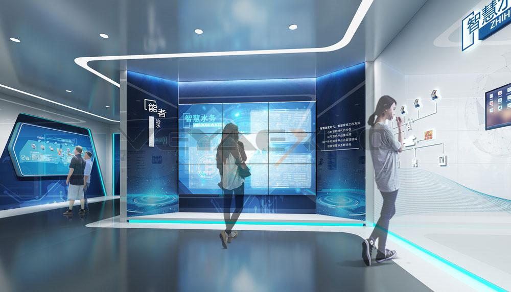 山科企业展厅设计-3