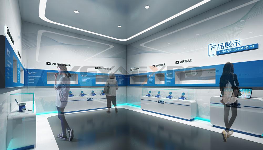 山科企业展厅设计-2