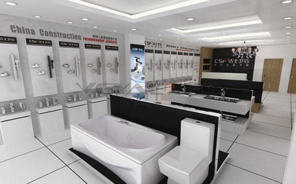 卫浴专卖店展厅设计