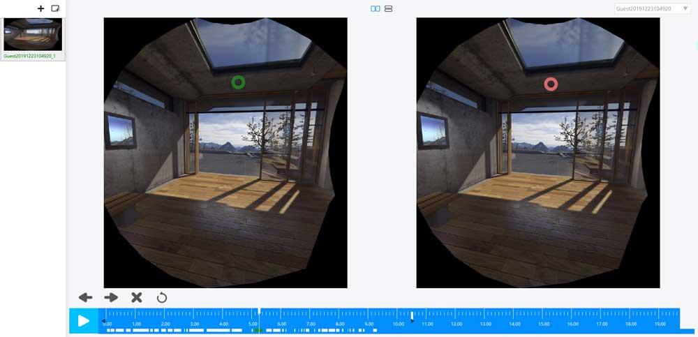 眼动仪,眼动,虚拟现实,VR眼动仪,人机交互